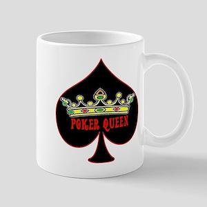Poker Queen Mugs