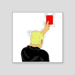 Red Card Sticker