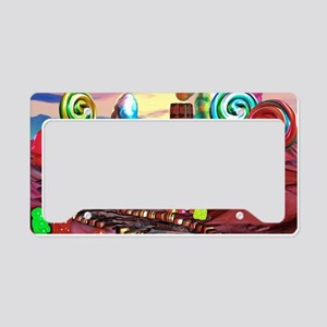 Candyland License Plate Holder