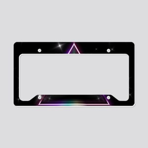 Mystic Prisms - Pyramid - License Plate Holder