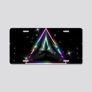 Mystic Prisms - Pyramid - Aluminum License Plate