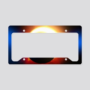 Solar Eclipse License Plate Holder