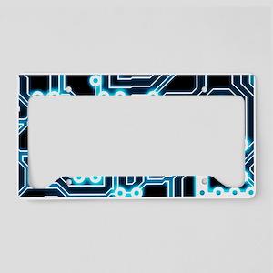 ElecTRON - Blue/Black License Plate Holder
