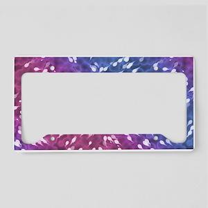 Little Swimmers - Blue/Pink License Plate Holder
