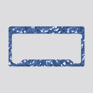Little Swimmers - Blue License Plate Holder