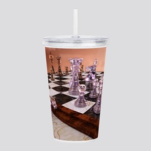 A Game of Chess Acrylic Double-wall Tumbler