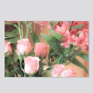 Rose Bouquet 2 Postcards (Package of 8)