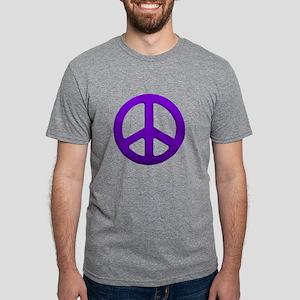 Purple Fade Peace Sign T-Shirt