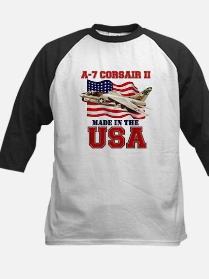 A-7 Corsair Kids Baseball Jersey