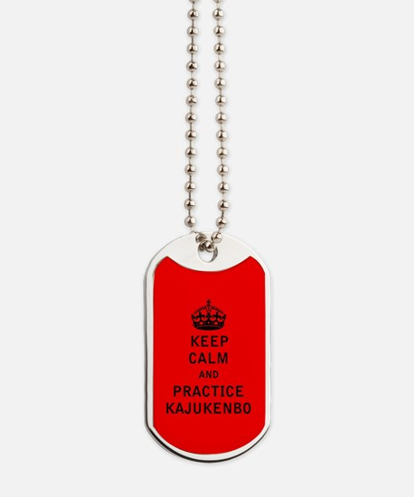 Keep Calm and Practice Kajukenbo Dog Tags
