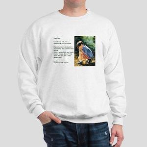 Prayer and a Question Sweatshirt