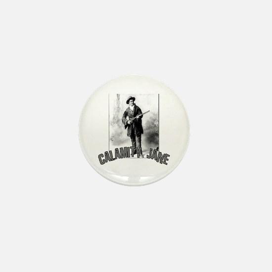 Vintage Calamity Jane Mini Button