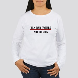 Ban Owners Women's Long Sleeve T-Shirt