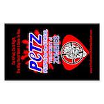 PETZ -Zombie Activism Rectangle Sticker