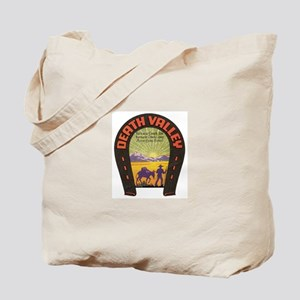 Vintage Death Valley Tote Bag
