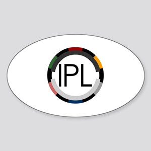 "Team IPL ""Poker Chip"" Logo Sticker (Oval)"