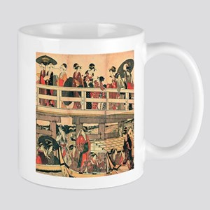 Ukiyoe The Bridge Mug