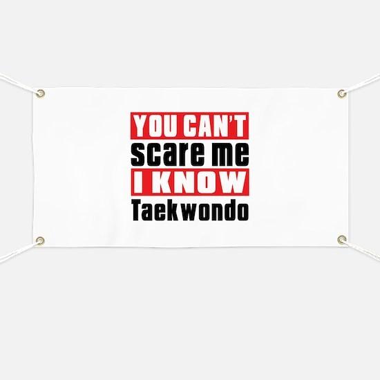 I Know Taekwondo Banner