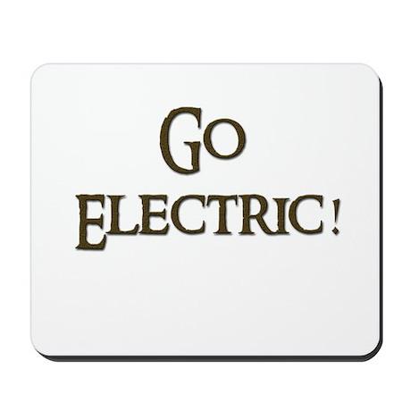 Go Electric 1 Mousepad