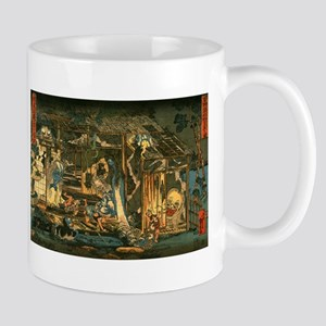 Ukiyoe Horror House Mug