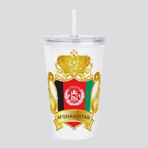Gold Afghanistan Acrylic Double-wall Tumbler