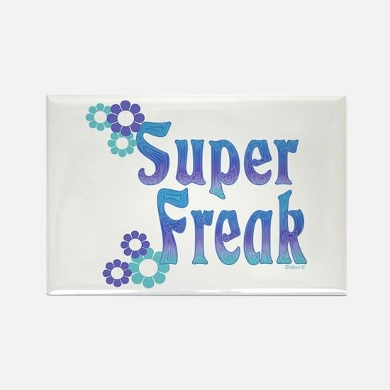 Super Freak Rectangle Magnet