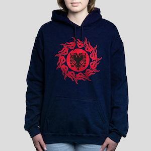Tribal Albania Women's Hooded Sweatshirt