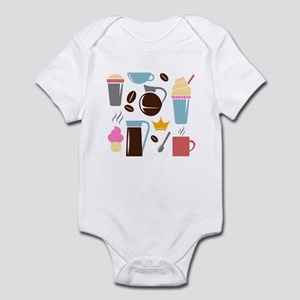 Template All Horizontal Infant Bodysuit