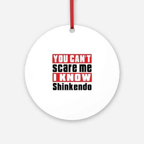 I Know Shinkendo Round Ornament