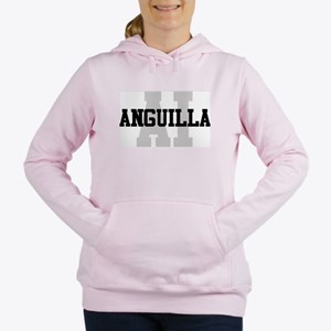 AI Anguilla Women's Hooded Sweatshirt