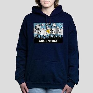 World Cup Argentina Women's Hooded Sweatshirt