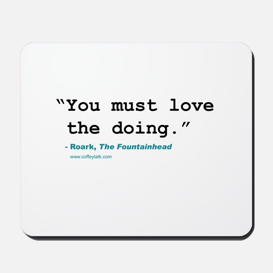 Movie quote Mousepad