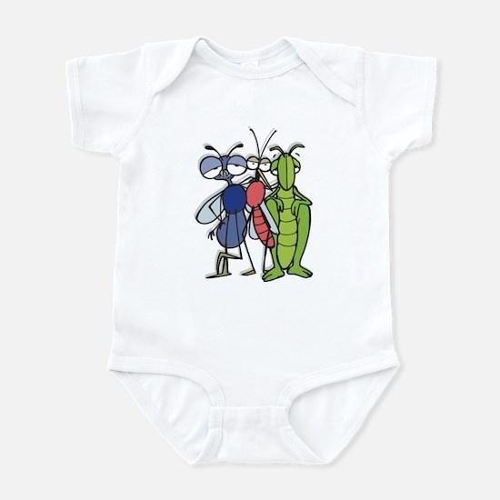 Bug Trio Infant Bodysuit