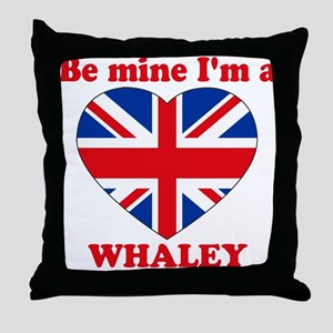 Whaley, Valentine's Day Throw Pillow