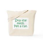 Pet a Cat Tote Bag