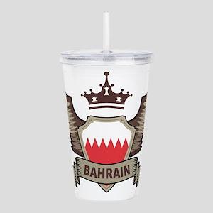 Bahrain Emblem Acrylic Double-wall Tumbler