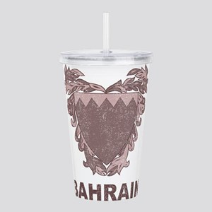 Vintage Bahrain Acrylic Double-wall Tumbler