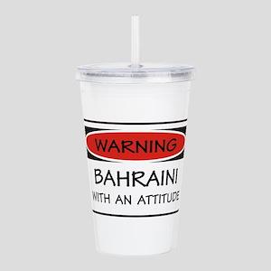 Attitude Bahraini Acrylic Double-wall Tumbler