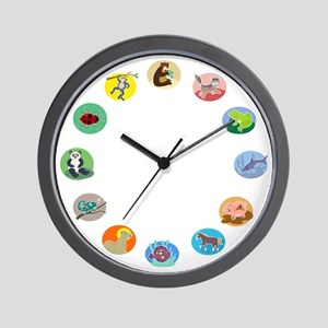 Animals Wall Clock