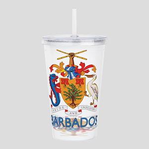 3D Barbados Acrylic Double-wall Tumbler