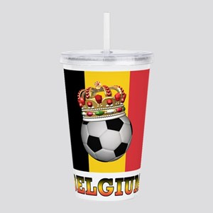 Belgium Football Acrylic Double-wall Tumbler