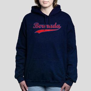 Retro Bermuda Women's Hooded Sweatshirt