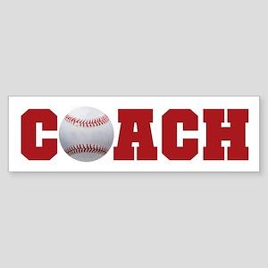 Baseball Coach 2 Bumper Sticker