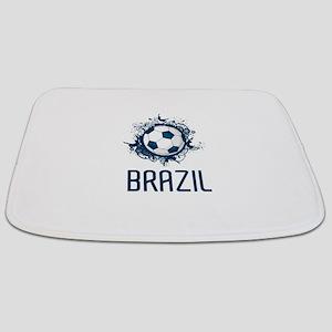 Hip Brazil Football Bathmat