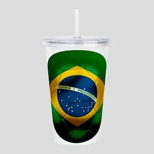 Brazil World Cup Acrylic Double-wall Tumbler