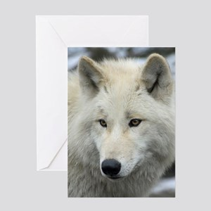 Polarwolf001 Greeting Cards