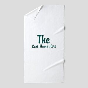 The (Use A Last Name) Beach Towel