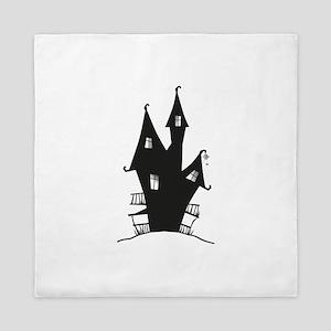 Haunted House Queen Duvet