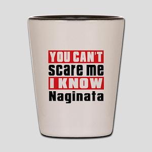 I Know Naginata Shot Glass
