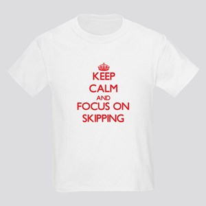 Keep Calm and focus on Skipping T-Shirt